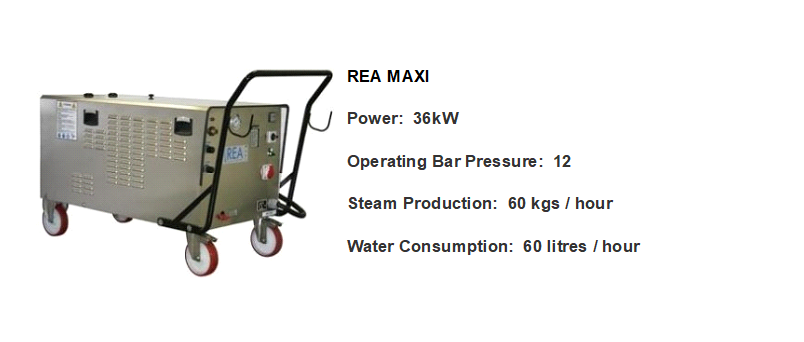 REA MAXI 36kW Steam Cleaner_2
