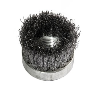 REA stainless steel 35mm brush